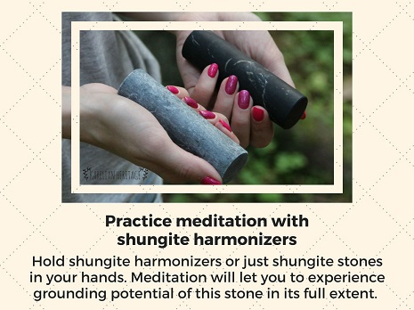 meditation-with-shungite-harmonizers