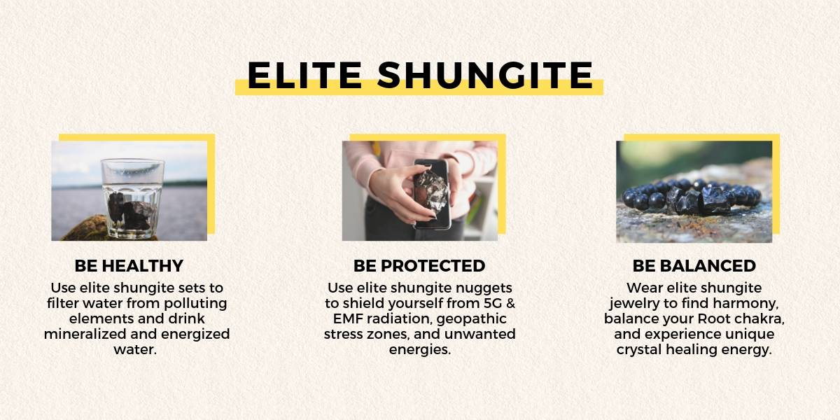 Buy Elite Shungite from Russia of Karelian Heritage with fast