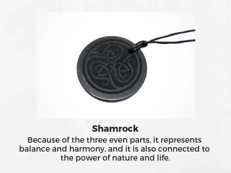 shungite-engraved-pendants-shamrock-scandi-symbols