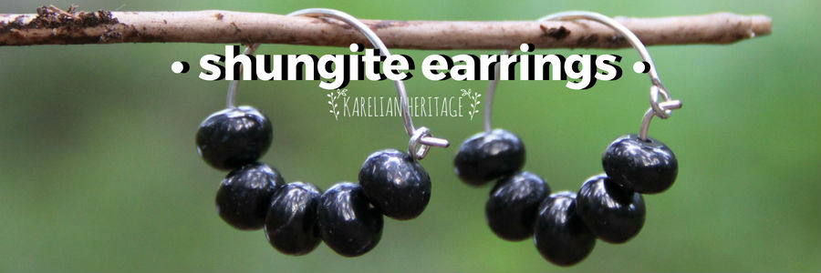 handmade-shungite-crystal-earrings
