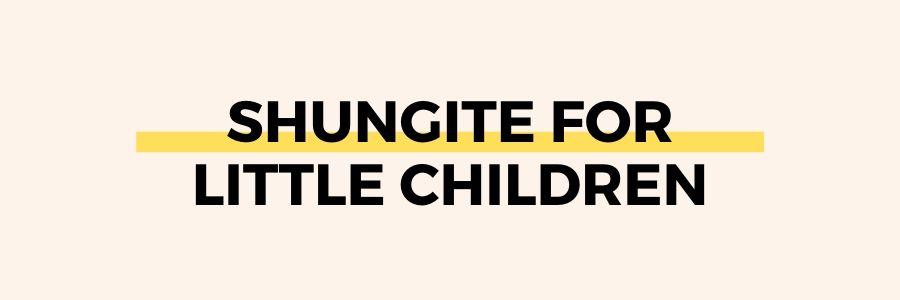 shungite-for-children