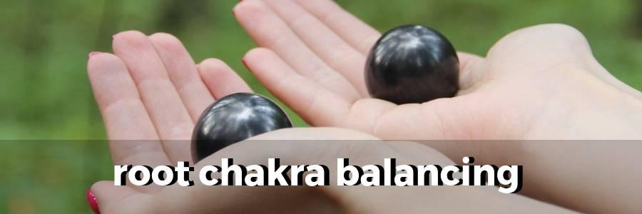 how-to-balance-root-chakra-with-shungite-stone