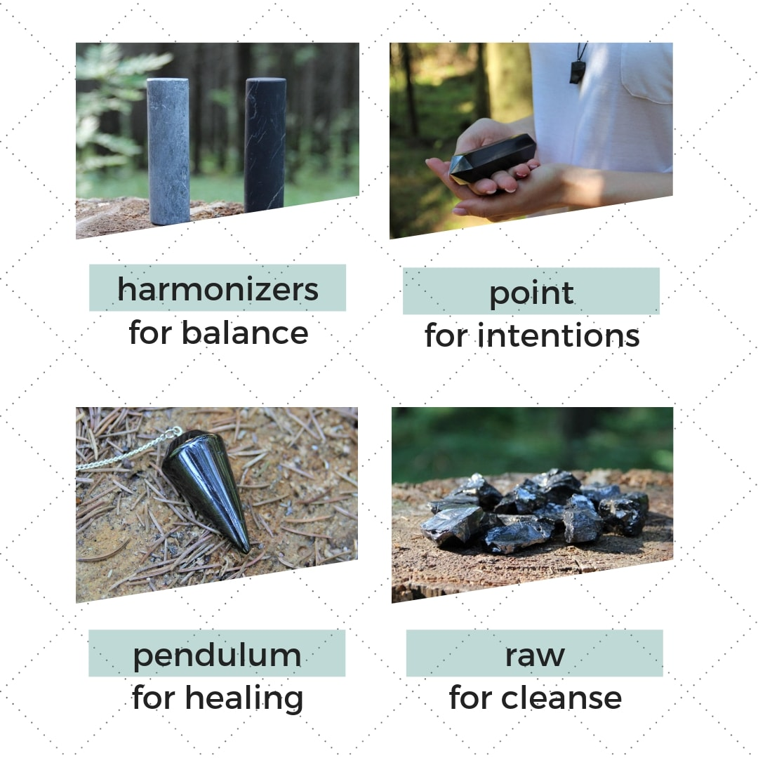 shungite-shapes-harmonizer-point-pendulum-raw