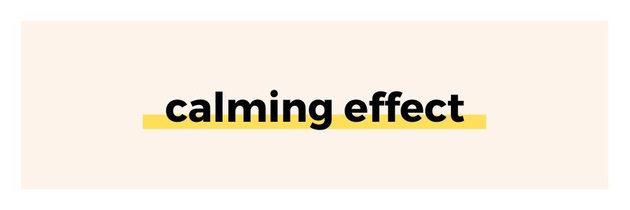 calming-effect