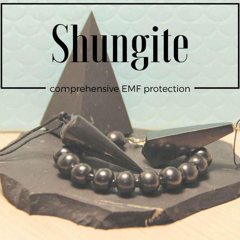 Shungite as a natural and efficient way of EMF protection