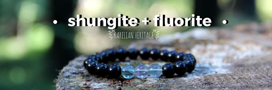 shungite-and-fluorite-handmade-bracelet-crystal-healing-jewelry