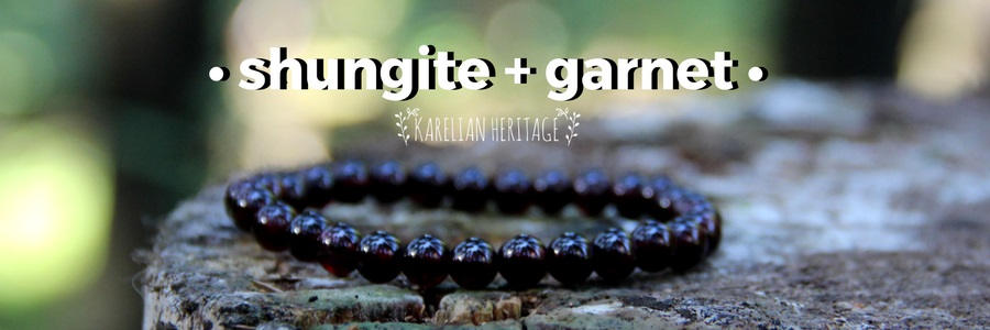 shungite-and-garnet-crystal-jewelry-for-crystal-healing