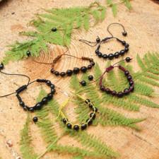 The Mystery of Shamballa: Macrame Bracelets with Shungite