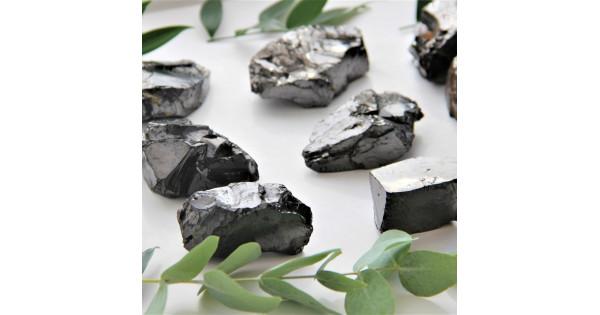 Radiation levels in filtering shungite stone