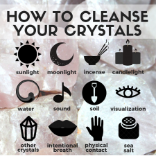 Cleanse Crystals with Shungite