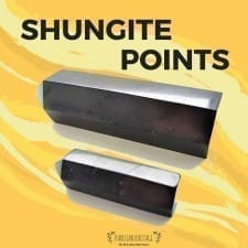 Shungite Crystal Point – Powerhouse of Energy