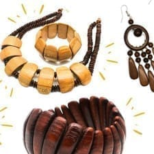 Wooden Jewelry to Get Closer to Nature