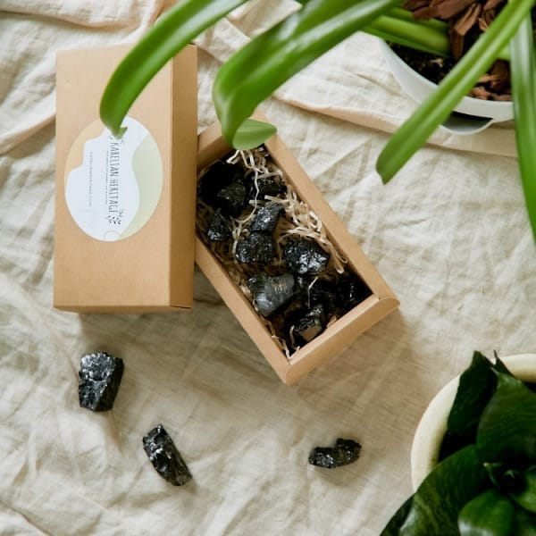Sale! 0.66 lb   Noble Elite shungite stones for water and jewelry making (5-15 grams stones)