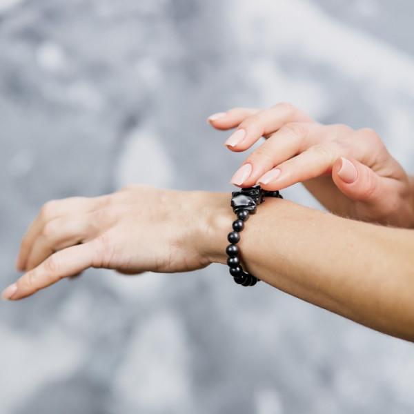 Elite shungite EMF protection bracelet