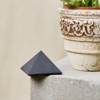50 mm Non-polished shungite pyramid