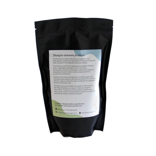 Shungite and dolomite fertilizer 1,76 lbs (800 grams)