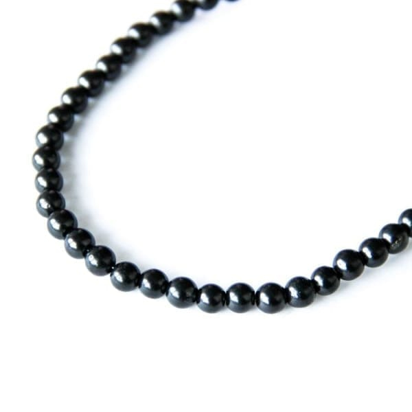 Shungite beads 5 mm 500 pieces