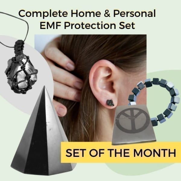 Complete Home & Personal EMF Protection Set
