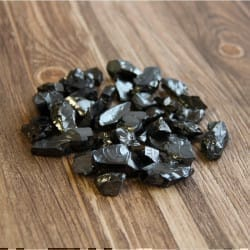 Sale! 0.66 lb   Silver Elite shungite for water and jewelry making (3-5 grams stones)
