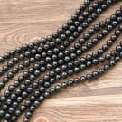Shungite beads wholesale 500 pieces 6 mm
