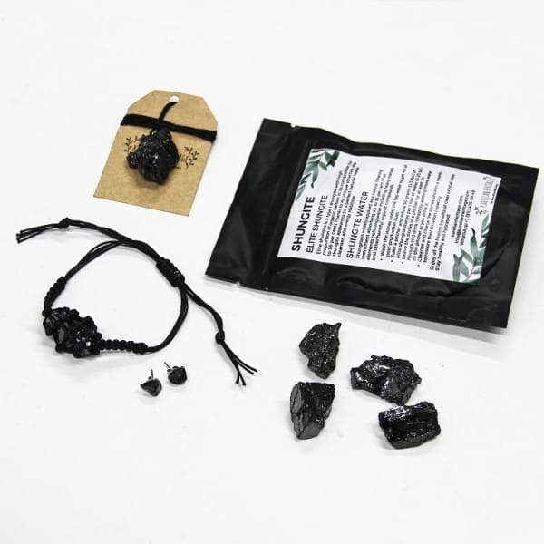 Elite Shungite Set for Protection and Healing