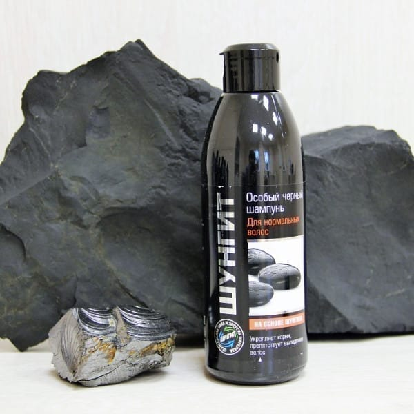 Shungite special black shampoo for normal hair (300 ml)