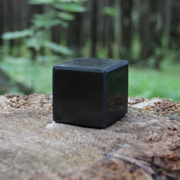 90 mm Polished shungite cube