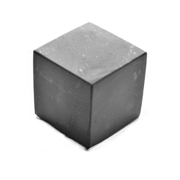 100 mm Non-polished shungite cube