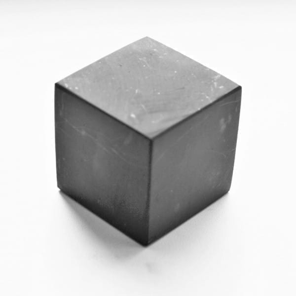 40 mm Non-polished shungite cube