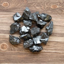 Elite Shungite Stones 50 grams ( 10-19 grams each)