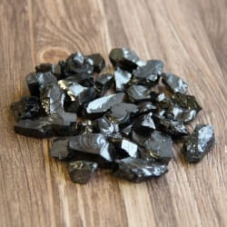 Elite shungite stones 100 grams (3-5 grams each)