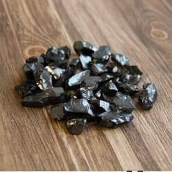 Elite shungite stones 100 grams (up to 3 grams each)
