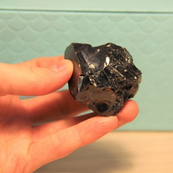 Elite shungite nugget of 50-70 grams (0,1-0,2 lb)