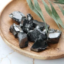 Elite Shungite Stones 420 grams (15-30 grams each)