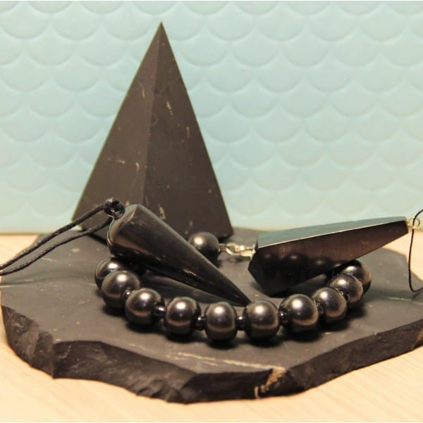 Shungite Energy Set with High Pyramid