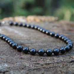 Shungite root chakra necklace