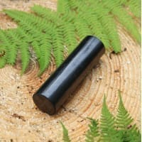 Polished shungite cylinder (30*105 mm - 1.18*4.13 inches)