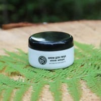 Shungite facial cream with a rejuvenating effect against wrinkles (100 ml)