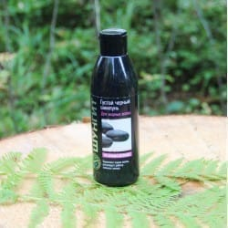 Shungite thick black shampoo for oily hair (300 ml)