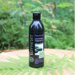 Shungite anti-inflammatory herbal bath foam with sage oil and Karelian herbs (500 ml)