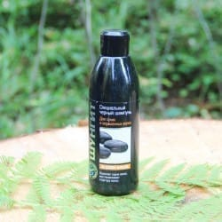 Shungite special black shampoo for dry and colored hair (300 ml)