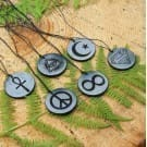 Shungite pendant the Eye of Providence