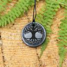 Celtic shungite pendant Tree of life