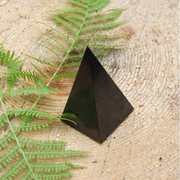 60 mm Polished shungite high pyramid