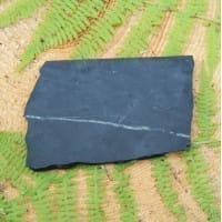 Non-polished irregular shungite tile