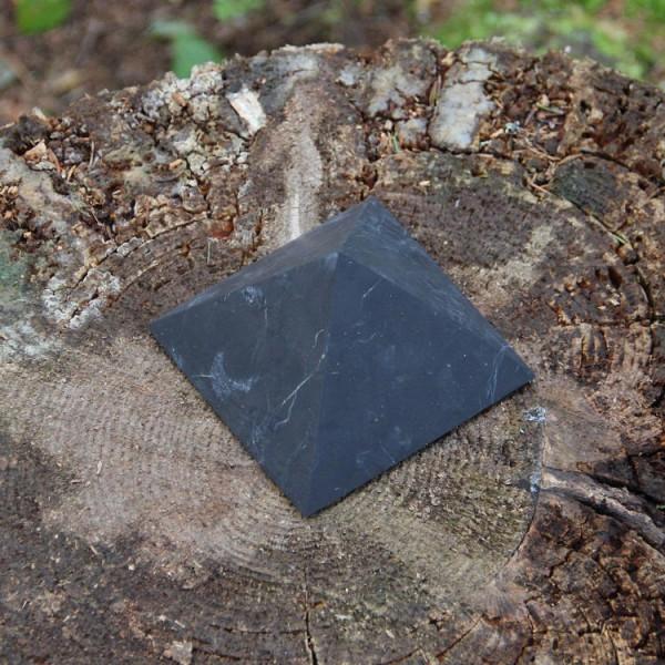 250 mm Non-polished shungite pyramid
