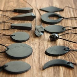 Shungite stone pendants wholesale