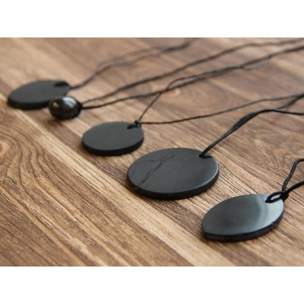 Shungite protective pendants set
