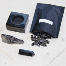 Crystal Care Routine: Cleanse Crystals with Shungite