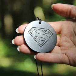 Big shungite pendant Superman